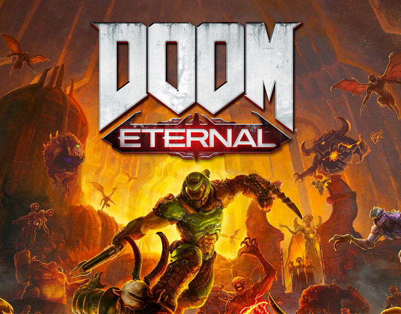 DOOM Eternal Standard Edition (Xbox One), The Infamous Gamer, theinfamousgamer.com