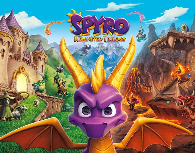 Spyro Reignited Trilogy (Xbox One), The Infamous Gamer, theinfamousgamer.com